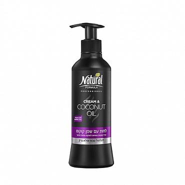 Купить крем для волос Natural Formula Cream & Coconut Oil 400 мл от 505.18 руб   «Парфюм-Лидер»
