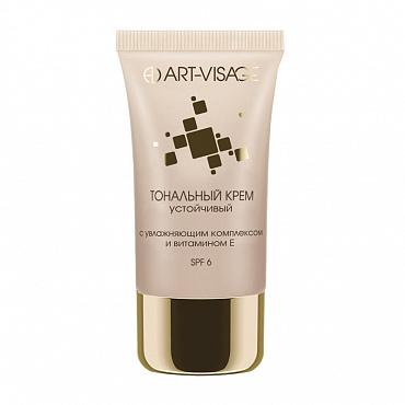 Купить стойкий тональный крем для лица Art-Visage Устойчивый  т.204 темно-бежевый от 299.90 руб | «Парфюм-Лидер»